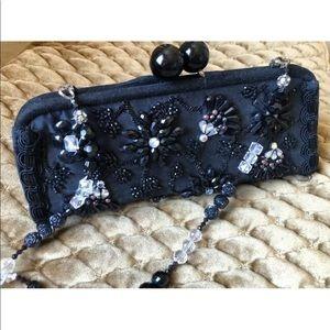 Mary Frances 👛 Black beaded evening bag